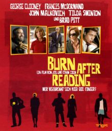 BURN AFTER READING - WER VERBRENNT SICH HIER DIE FINGER?